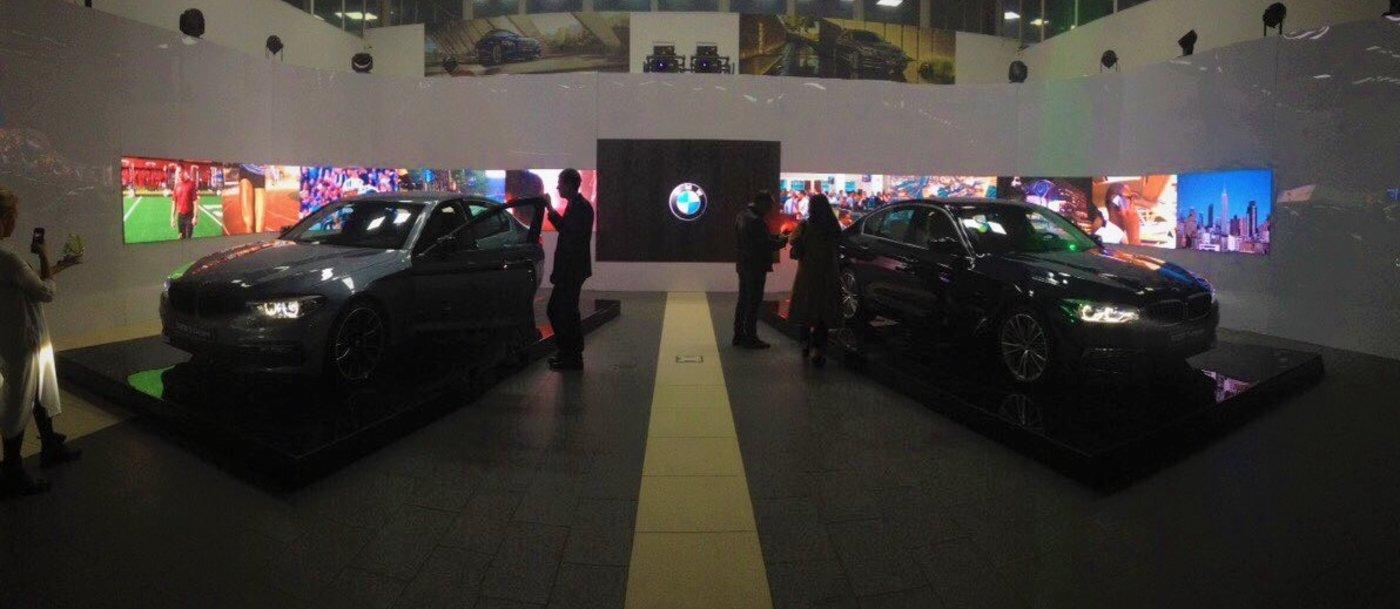 Презентация нового BMW 5 серии